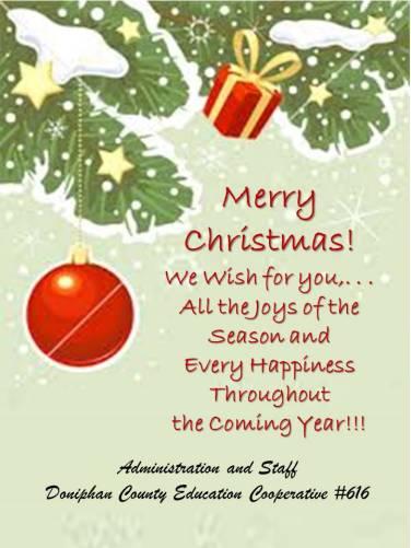 Website Holiday Greetings